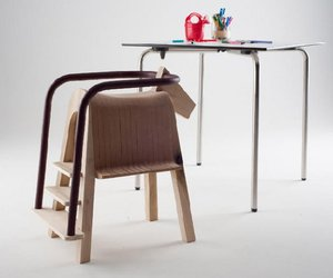 'Play-and-Eat' Saddle Seat by Tamasine Osher