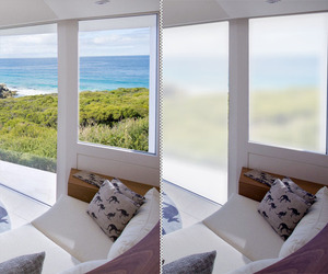 Smartphone controlled window shading