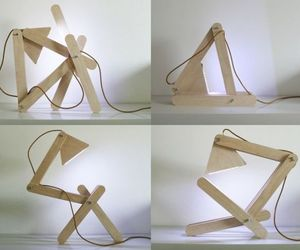 Playfully cool Residue desk lamp