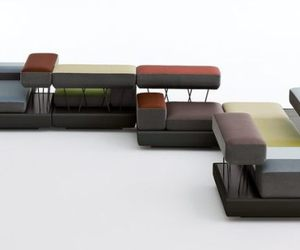 Plot modular seating by osko+Deichmann for Brunner