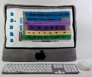 Plush IMac Design by Kerry Hughes