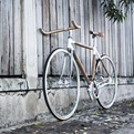 PLYbike, Handlebars and Rack by Dots Design Studio