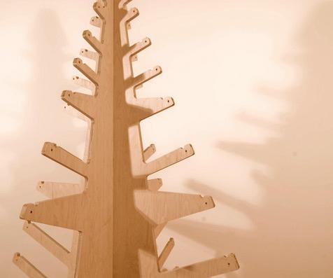 Plywood Reusable Christmas Tree