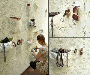 'Pocket wall' holds my stuff smartly