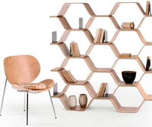 Polygon Shelving Unit by Luka Stepan for Made