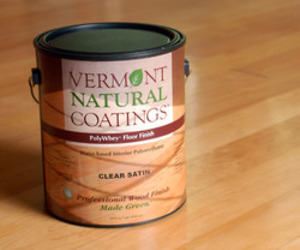 PolyWhey Floor Finish from Vermont Natural Coatings