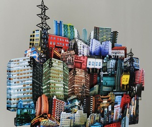 Pop Up Architecture Art by Mathilde Nivet