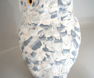 Porcelain Owl Scupture