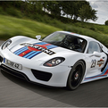 Porsche 918 Spyder x Martini Racing