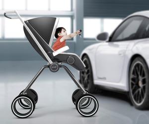 Porsche Baby Stroller by Dawid Dawod