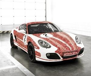 Porsche Cayman S '2 Million Facebook Fans'
