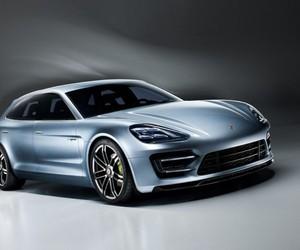 Porsche Hybrid Panamera Vehicle