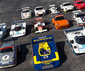 Porsche Parade at Amelia Island Auction on March 9