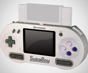 Portable Pocket Super Nintendo Console