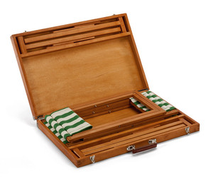 Portable Wooden Picnic Set