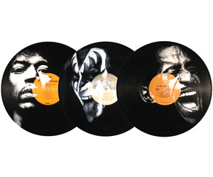 Portraits On Vinyl Records