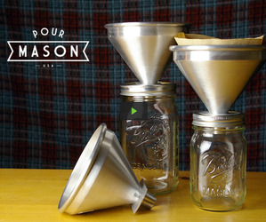 Pour Mason: Make Coffee in Mason Jars