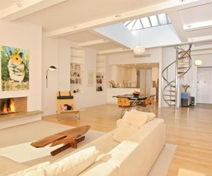 Pre-war loft with water tank 'getaway' by Messana O'Rorke