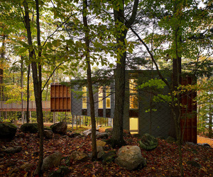 Prefab Cottage for Two Families