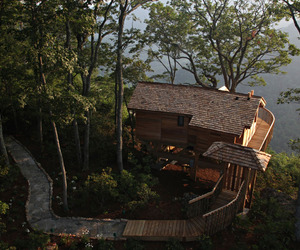 Primland's New Tree House Retreat