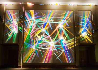Quot Prism Party Quot Light Paintings By Artist Stephen Knapp