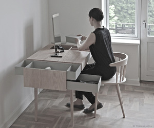 Private desk by Theresa Arns