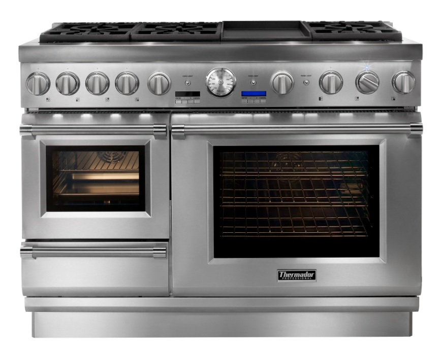 Thermador Countertop Stove : Pro Grand Steam Range by Thermador