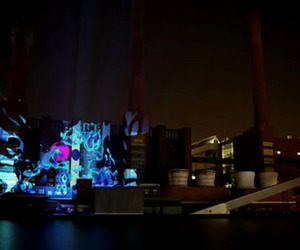 Projection Mapping Architecture in Wolfsburg, Germany