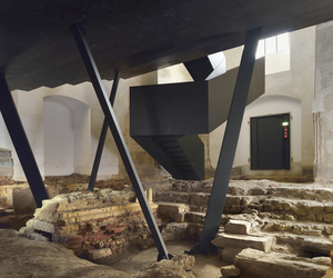 Ptuj Monastery turned into Performance Center by Enota