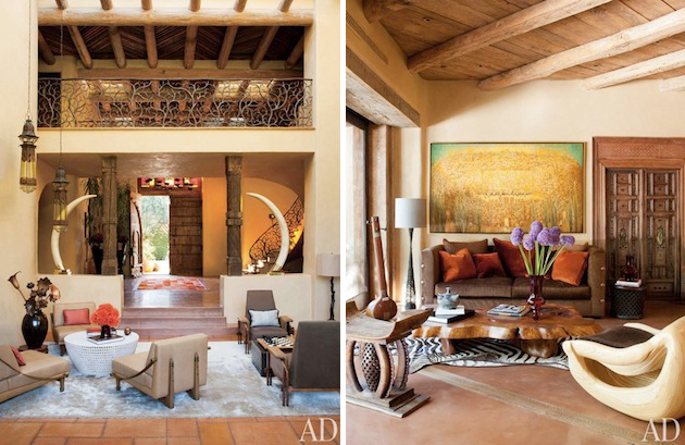 Pueblo Style Los Angeles Home By Stephen Samuelson