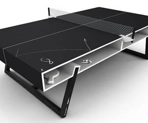 Puma Chalk Ping Pong Table