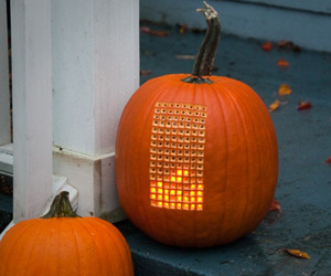 Pumpktris, A Tetris Playing Pumpkin
