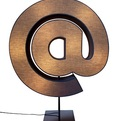 Punctuation Lamps from Tabisso