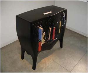 Push and Store Cabinet by Chung-Tang Ho