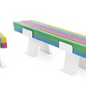 Pylon – A Colorful Bench