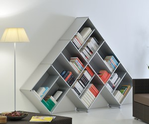Pyramid Bookcase by Fitting