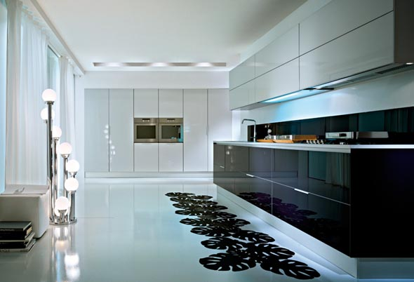 & Q2 Modern Kitchen Style From Pedini