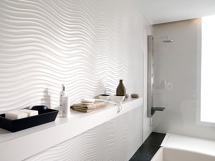 Qatar porcelain wall tile from porcelanosa for Porcelanosa douche