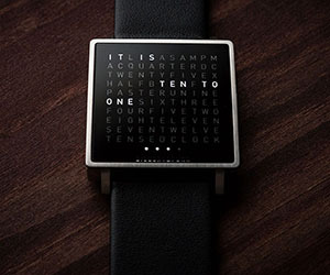 QLOCKTWO W Watch by Biegert and Funk
