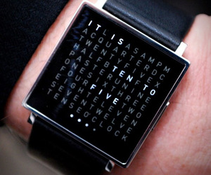 Qlocktwo W Watch by Biegert & Funk