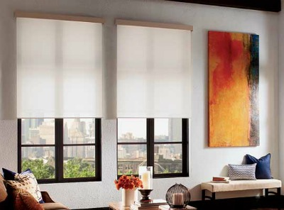 qmotion wireless motorized roller shades - Motorized Roller Shades
