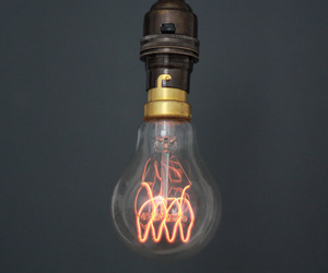 Quad Loop carbon filament light bulb. 60W. 230V.