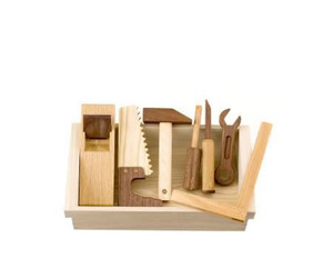 Quality and Natural Wooden Toy Tool Set