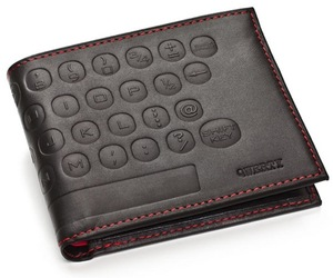 QWERTY Premium Leather Wallet