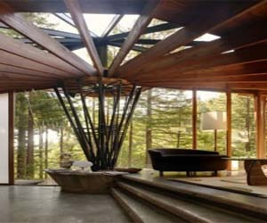 Radius House, A Natural House Design by Dwyer Design