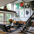 Raf Simons' Home in Belgium