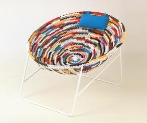 Rag chair by Dani Catalan