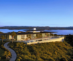 Rahimoana Villa retreat in the Bay of Islands