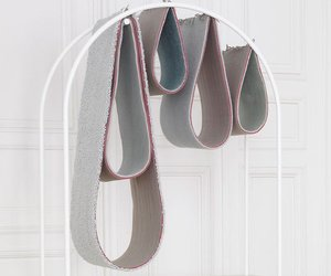 'Raindrops' carpet storage by Giorgia Zanellato