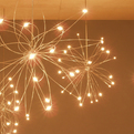 Random Orbit Chandelier by Christopher Moulder